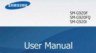 galaxy s6 edge user manual guide