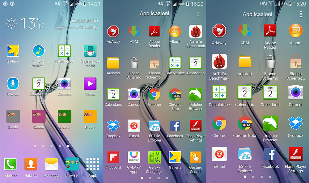 how to go to downloads on samsung s6