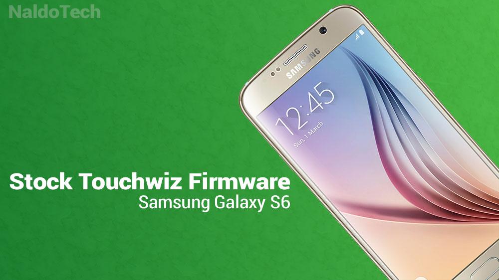galaxy s6 stock firmware