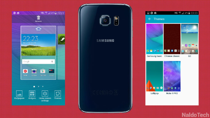 Samsung Galaxy S5 and Galaxy Note 4-the Comparison