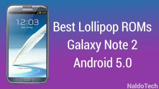 best lollipop roms note 2