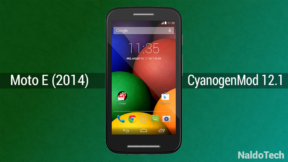 moto e android 5.1 cyanogenmod 12.1