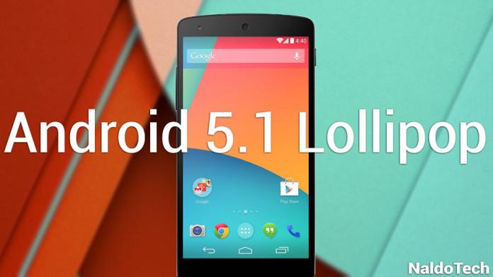 nexus 5 android 5.1 lollipop ota