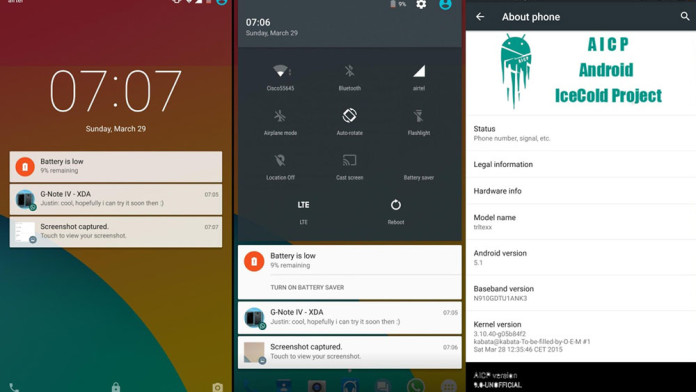 how to download custom rom in note 4