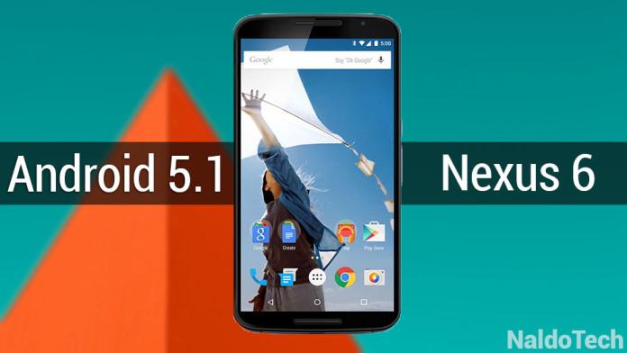 T-Mobile Nexus 6 Lollipop 5.1 OTA