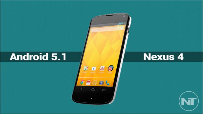 android 5.1 nexus 4 ota
