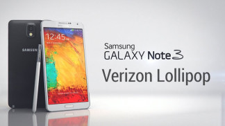 galaxy note 3 verizon lollipop