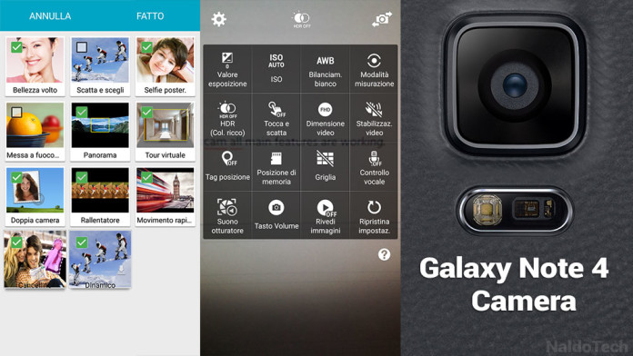 Download Samsung Galaxy S7 and Note 4 Camera App (Ported APK
