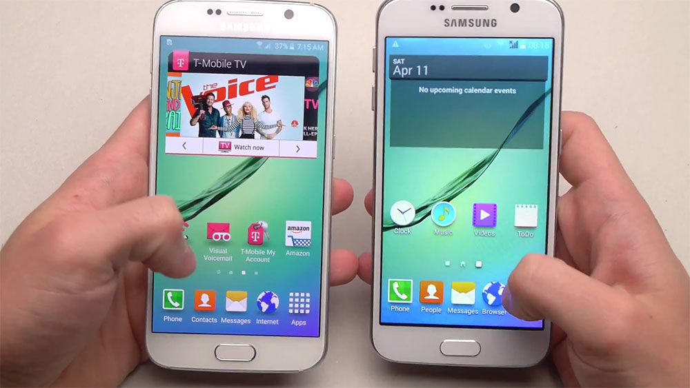 how to put music on a samsung galaxy s6