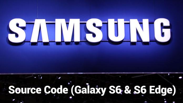 galaxy s6 kernel source code