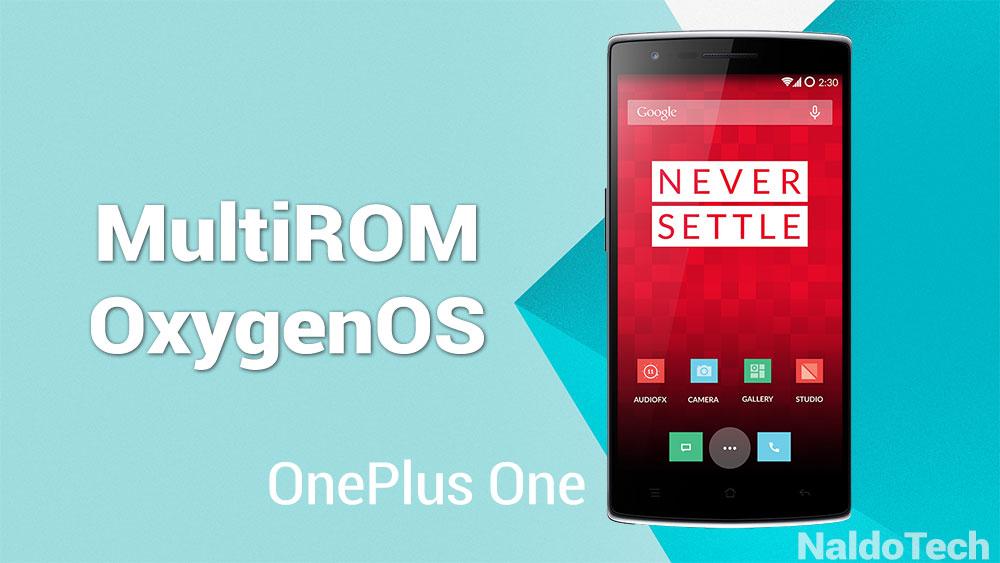 multirom oxygenos oneplus one