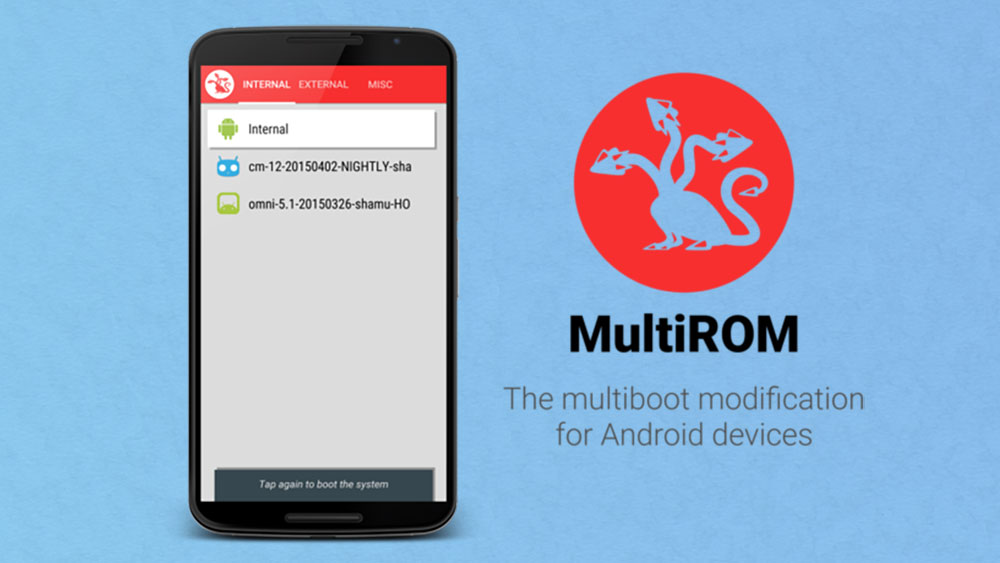 nexus 6 multirom dual boot