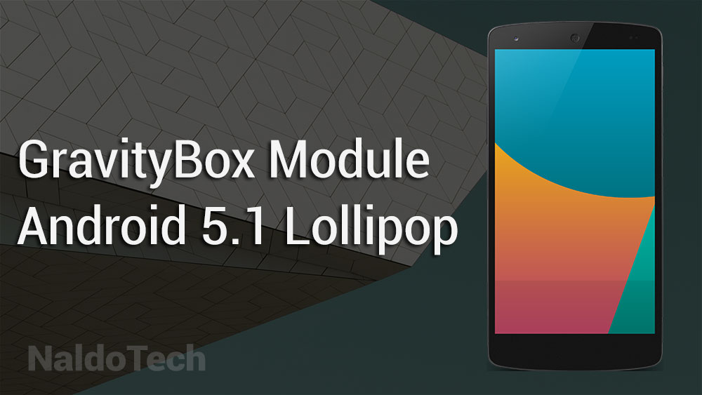gravitybox android 5.1