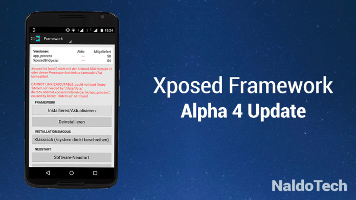xposed alpha 4