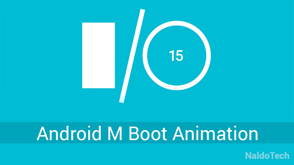 android m boot animation zip