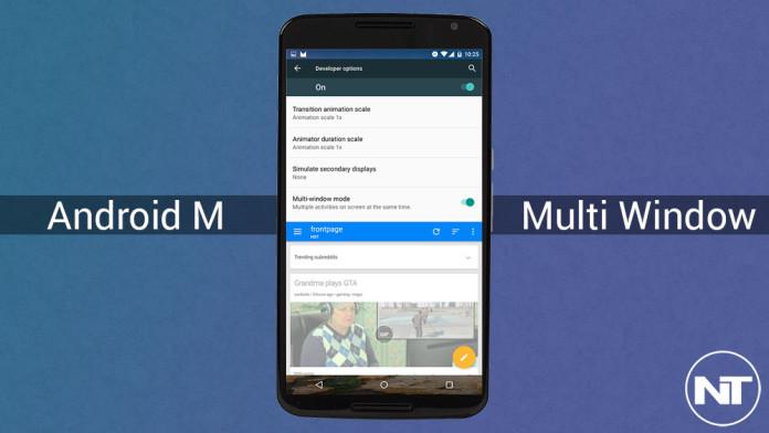 mutli window android m