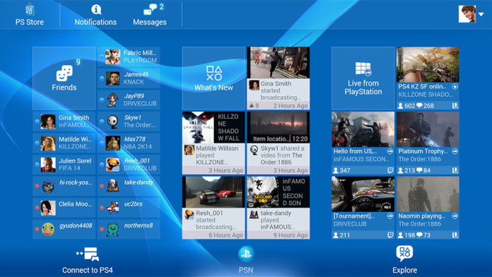 playstation network apk