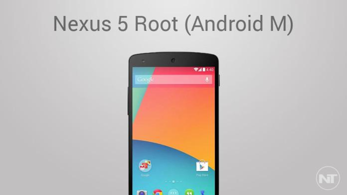 root nexus 5 android m