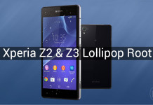 root xperia z2 lollipop