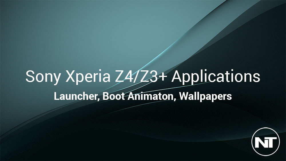 Download Sony Xperia Z4 & Z3+ Launcher APK, Ringtones, Wallpapers