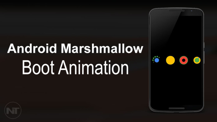 android marshmallow boot animation