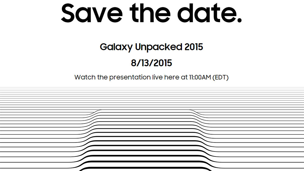 Watch YouTube Samsung Galaxy Unpacked 2015 Live Event - Note