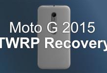 moto g 2015 twrp root