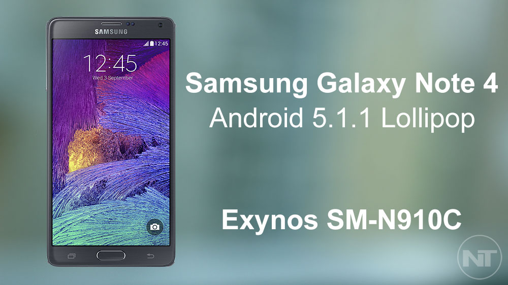 Update Galaxy Note 4 SM-N910C Exynos to Android 5 1 1 Lollipop