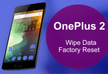 oneplus 2 factory reset