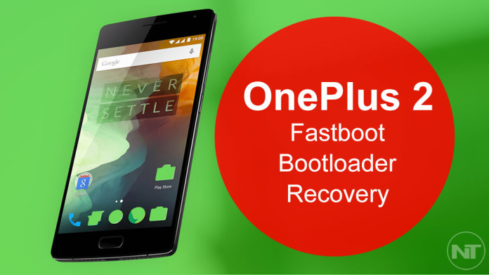 oneplus fastboot recovery