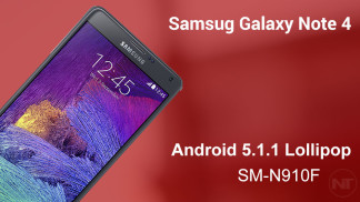 sm-n910f android 5.1.1 note 4