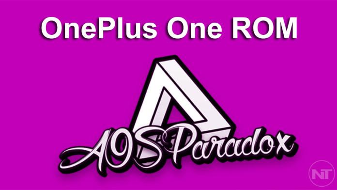 AOSParadox oneplus one
