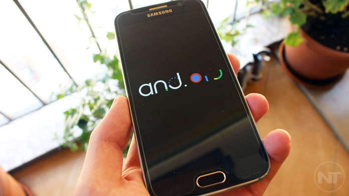 android m boot animation galaxy