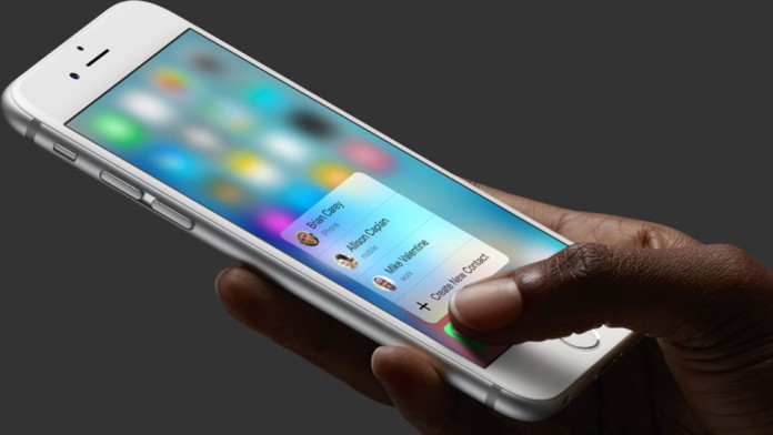 apps support 3d touch