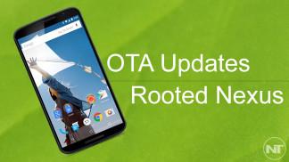 install ota rooted nexus 6