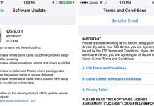 ios 9.0.1 ota software update