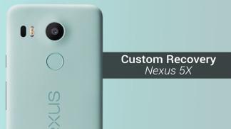 TWRP custom recovery nexus 5x