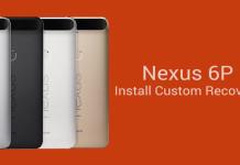 custom recovery nexus 6p