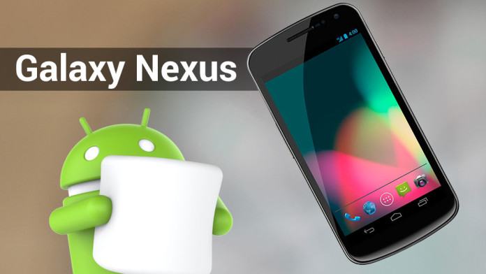 galaxy nexus marshmallow rom