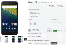 nexus 5x 6p preorder india