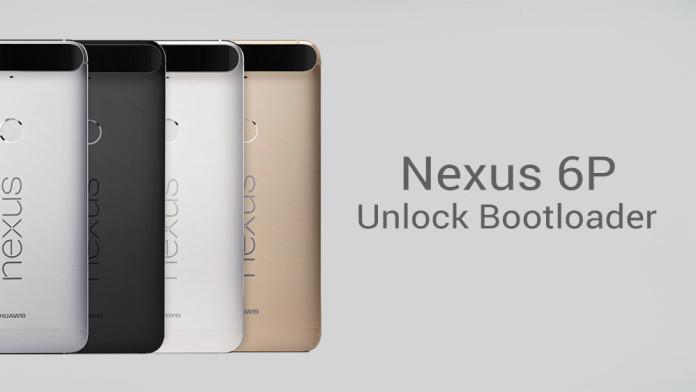 nexus 6p unlock bootloader