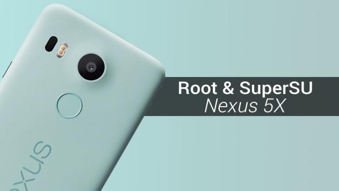 root supersu nexus 5x