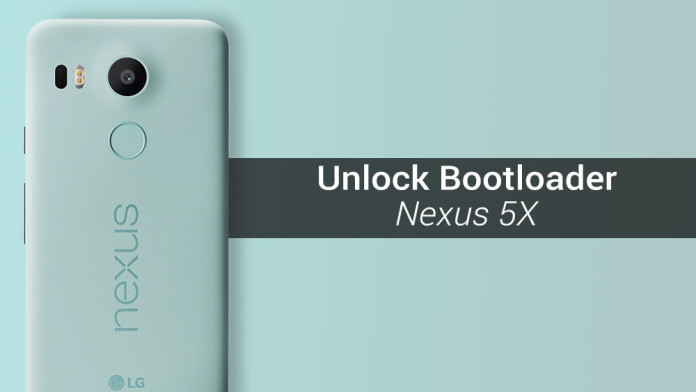 unlocked bootloader nexus 5x