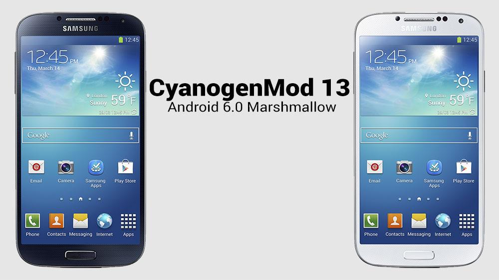 samsung galaxy s4 i9505 прошивка android 6