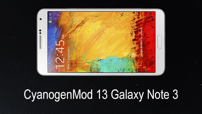 galaxy note 3 cm13 rom