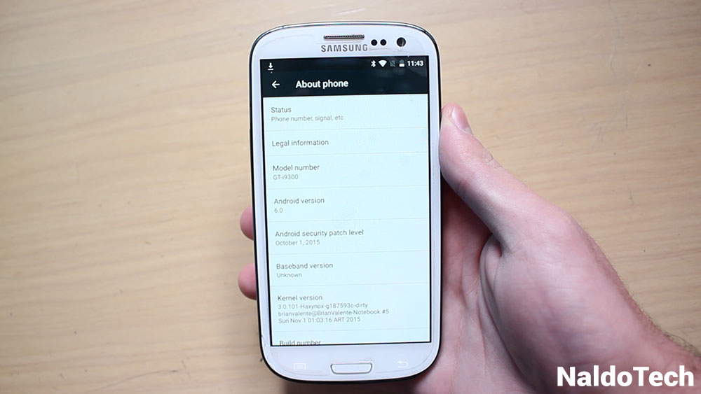 Download CM13 Marshmallow ROM for Galaxy S3 GT-I9300 - NaldoTech