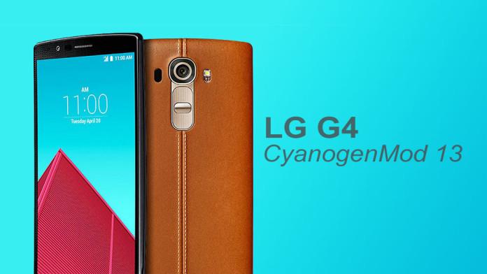 lg g4 cyanogenmod 13 nightly