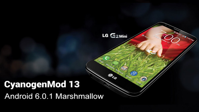 lg g2 mini cyanogenmod 13 marshmallow rom