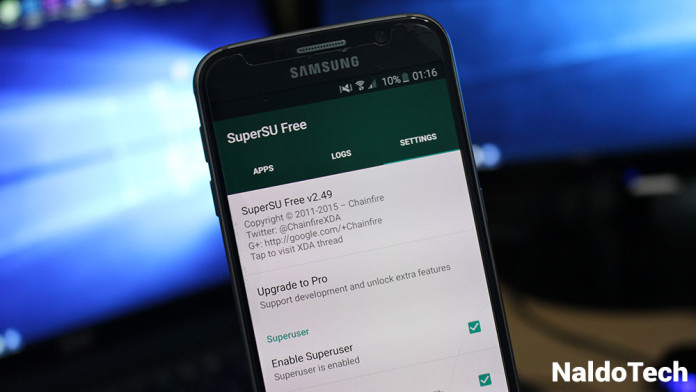 root supersu marshmallow galaxy s6