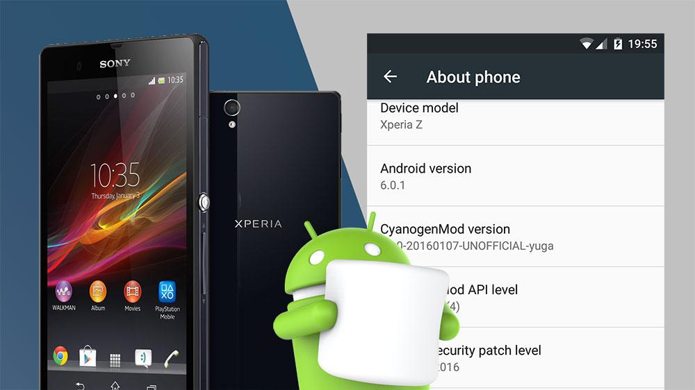 CyanogenMod 13 Marshmallow 6 0 1 ROM for Xperia Z - NaldoTech